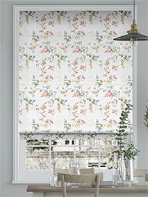 Birds and Roses Multi Roman Blind thumbnail image