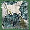 Blakely Linen Vintage Cyan Spring Roman Blind swatch image
