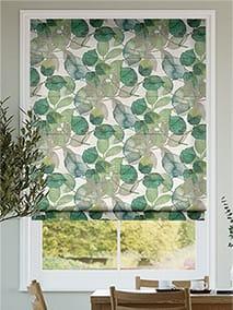 Blakely Linen Vintage Lily Pad Roman Blind thumbnail image
