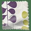 Blooming Meadow Linen Amethyst Roman Blind swatch image