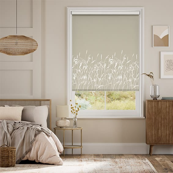 Blowing Grasses Pebble Roller Blind
