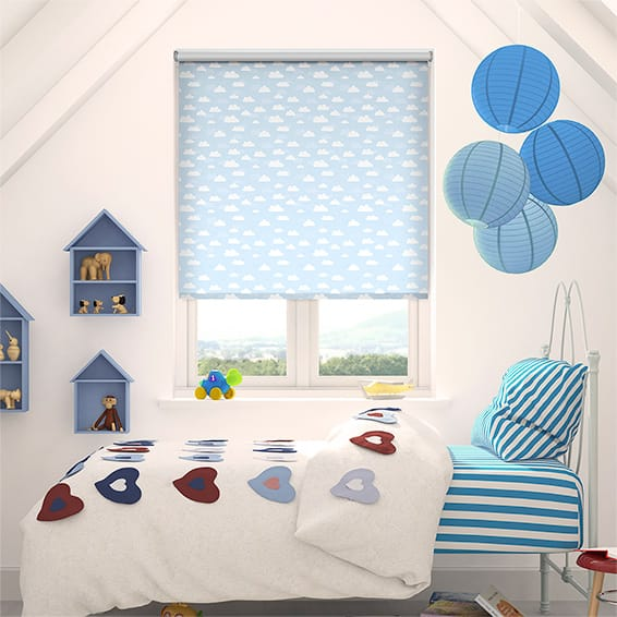 Blue Clouds Blackout Roller Blind
