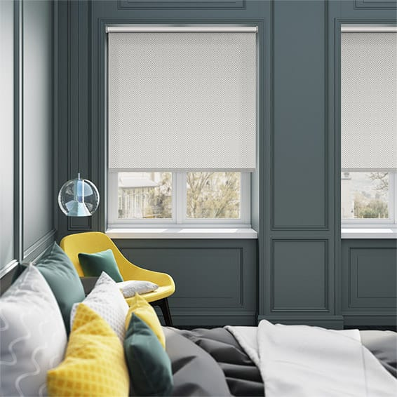 Bonne Nuit Blackout Grey Roller Blind