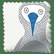Booby Bird Blackout Sapphire Roller Blind sample image