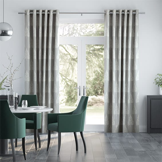Bradgate Silver Curtains