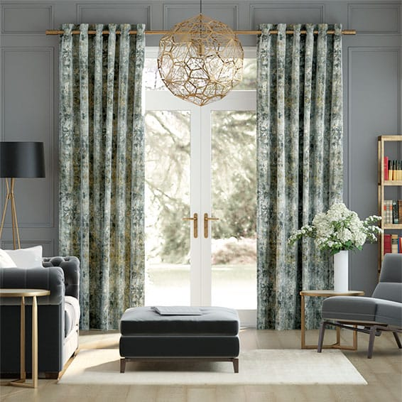 Breedon Weave Mineral Curtains