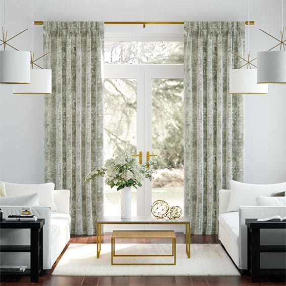 Breedon Weave Stone Curtains