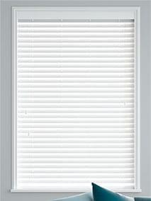 Brilliant White Wooden Blind thumbnail image
