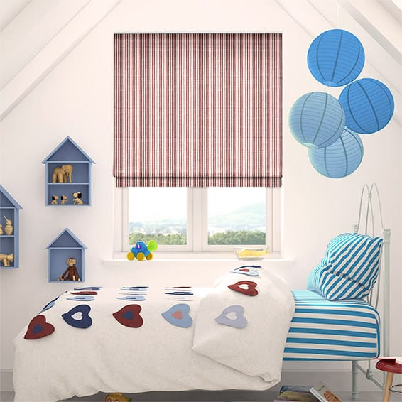 Bryony Rouge Roman Blind