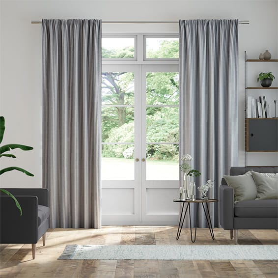 Bryony Slate Curtains