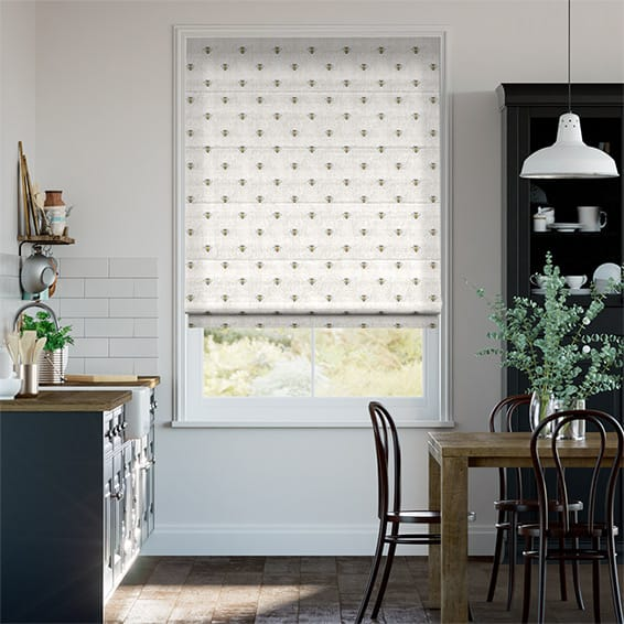 Busy Bees Roman Blind