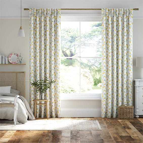 Buttercup Yellow Curtains