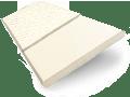 Buttermilk & Ivory Faux Wood Blind - 50mm Slat sample image