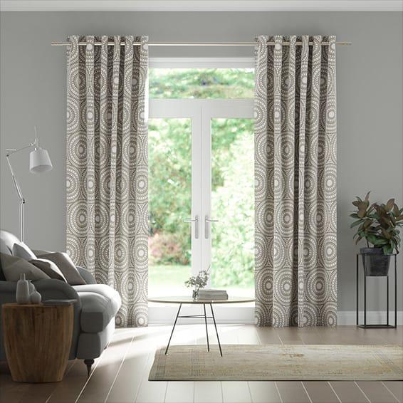 Cadencia Truffle Curtains