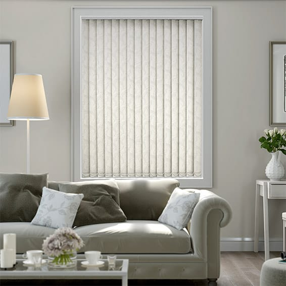Calaf Blackout Pearl Vertical Blind