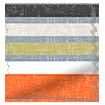 Calcutta Stripe Olive Roller Blind slat image
