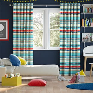 Calcutta Stripe Seaside Blue thumbnail image