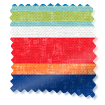 Calcutta Stripe Seaside Blue Curtains swatch image
