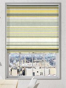 Calcutta Stripe Sunshine Roman Blind thumbnail image
