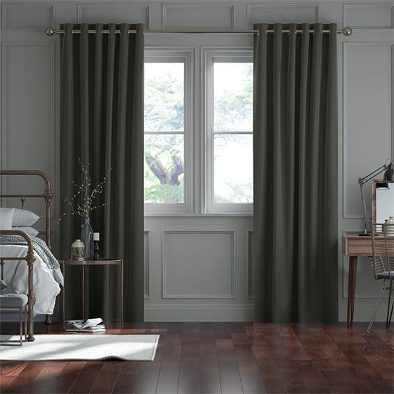 Canterbury Velvet Quartz Curtains