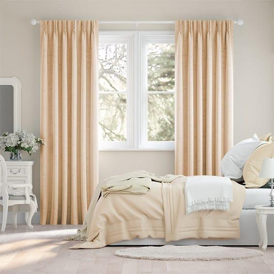 Canterbury Velvet Warm Cream Curtains