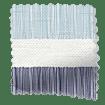 Cardigan Stripe Blue Horizon Roman Blind swatch image