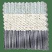 Cardigan Stripe Linen Blue Horizon Roman Blind swatch image