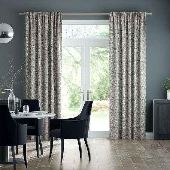 Cassia Mercury Curtains