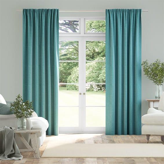 Cavendish Aqua Curtains