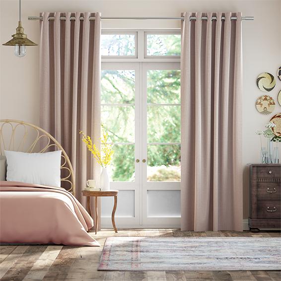 Cavendish Blush Curtains