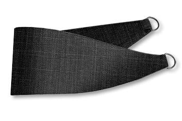 Cavendish Charcoal Curtains - Tiebacks