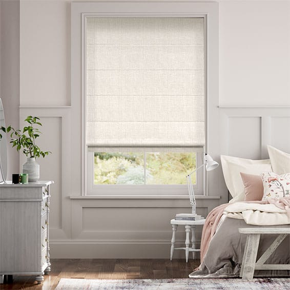 Cavendish Cream Roman Blind