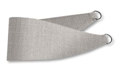 Cavendish Grey Wash Curtains - Tiebacks