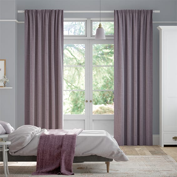 Cavendish Heather Curtains