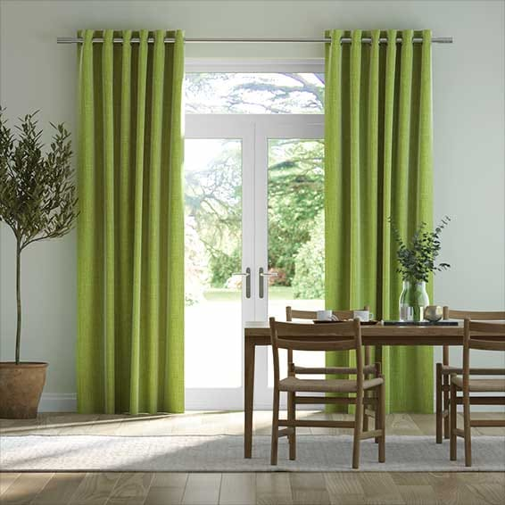 Cavendish Lime Curtains