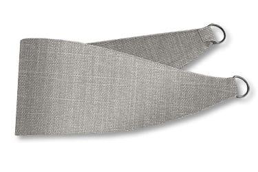 Cavendish Mid Grey Curtains - Tiebacks