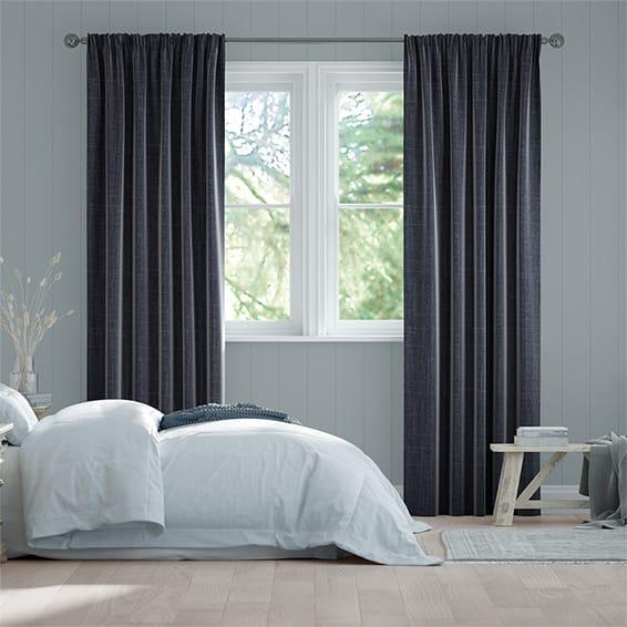 Cavendish Navy Curtains