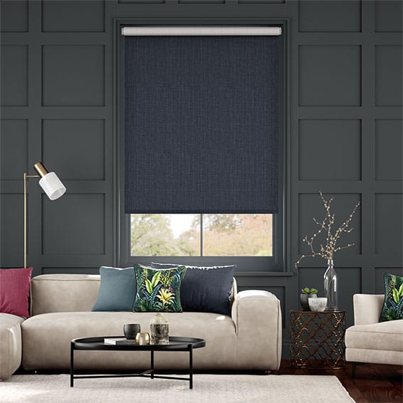 Choices Cavendish Navy Roller Blind