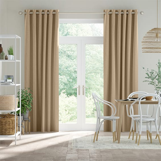 Cavendish Oatmeal Curtains