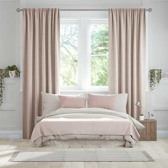 Cavendish Warm Blush Curtains