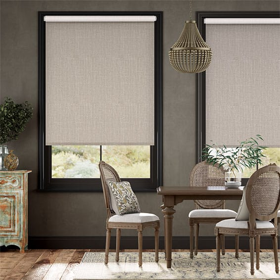 Electric Choices Cavendish Warm Stone Roller Blind