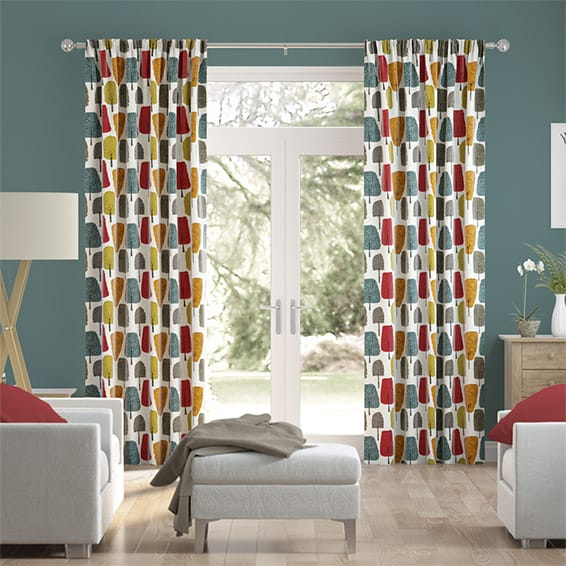 Cedar Chilli Curtains