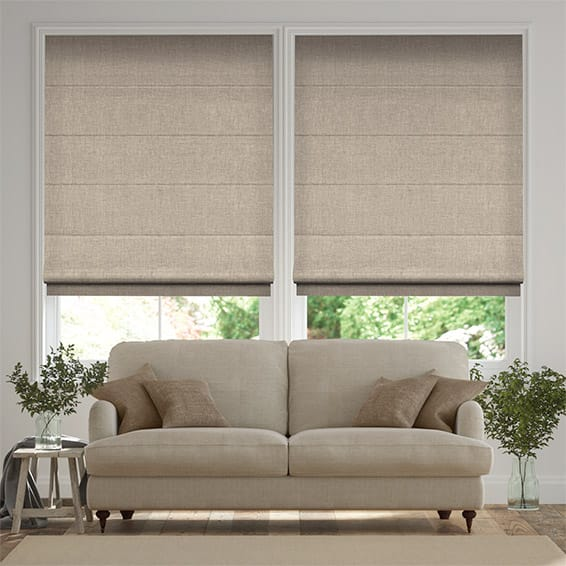 Chalfont Taupe  Roman Blind
