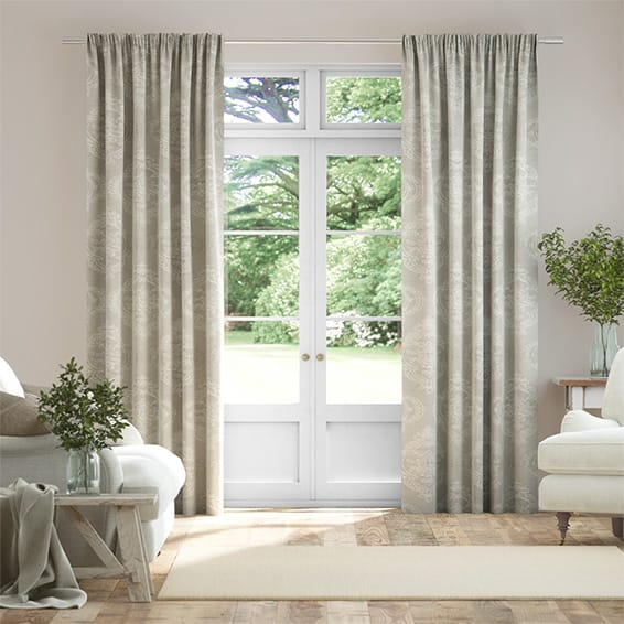 Chantilly Natural Curtains