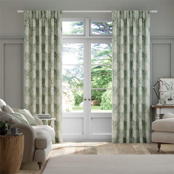Charleston Mint Curtains