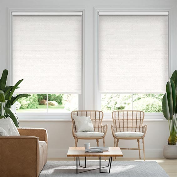 Choices Acantha Snow White Roller Blind