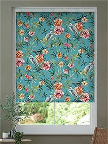 Choices Bella Heron Turquoise Roller Blind thumbnail image