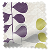 Choices Blooming Meadow Linen Amethyst Roller Blind slat image