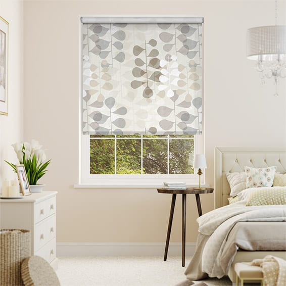 Choices Blooming Meadow Linen Neutral Roller Blind