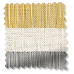 Choices Cardigan Stripe Linen Flax Grey Roller Blind swatch image